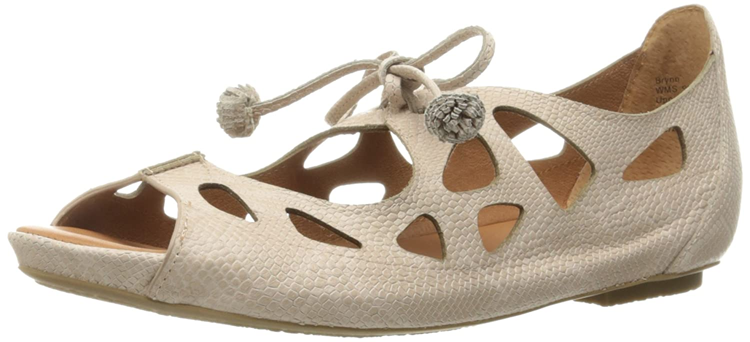 Gentle Souls Women's Brynn Mary Jane Flat B01I0LRZZI 6.5 M US|Nude