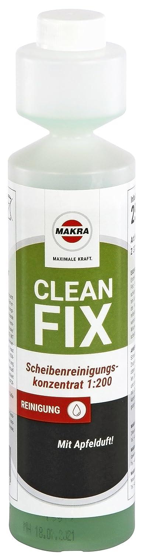 Makra Cleanfix limpiacristales concentrado 1: 200 manzana Aroma 250 ml: Amazon.es: Coche y moto