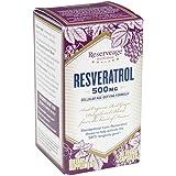 Reserveage - Resveratrol 500mg, Cellular Age-Defying Formula, 30 vegetarian capsules