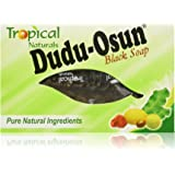 Black Soap 12 Bar Value Pack By Dudu Osun For African American Skin Care | African Black Soap Bars Made with Pure Natural Ingredients | Face and Body Wash for Cleansing, Nourishing, Protecting and Refreshing Your Skin | Each Soap Bar Contains Shea Butter, Aloe Vera and Citrus Juices | Helps Reduce Scars, Rashes and Irritation | Can Act As a Skin Cleansing System Leaving Skin and Hair Clean and Fresh