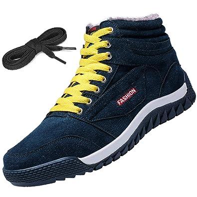72ab6461617a58 [Visionreast] 24.5-28cm スノーブーツ メンズ ウィンターブーツ アウトドア 雪靴 防水 防寒