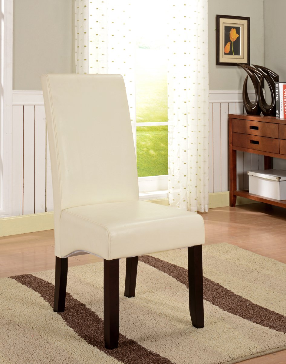 furniture of seat acadian categories chair home with set brown polyester wood grey parson decor dining chairs and p room solid armless en kitchen