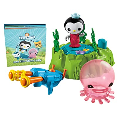 Fisher-Price Octonauts Peso & The Giant Comb Jelly Playset: Toys & Games