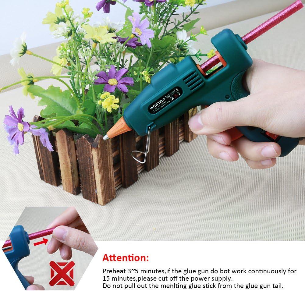 Mini Pistola de Silicona Caliente Profesional WEINAS® Pistola de ...