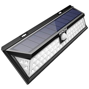 Mpow 54 Led Solarleuchte Außen Wasserdichte Solarbetriebene Lampe
