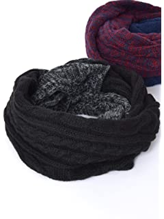 95e71a7075dd10 (シップスジェットブルー) SHIPS JET BLUE (0099) JB:CABLE KNIT SNOOD