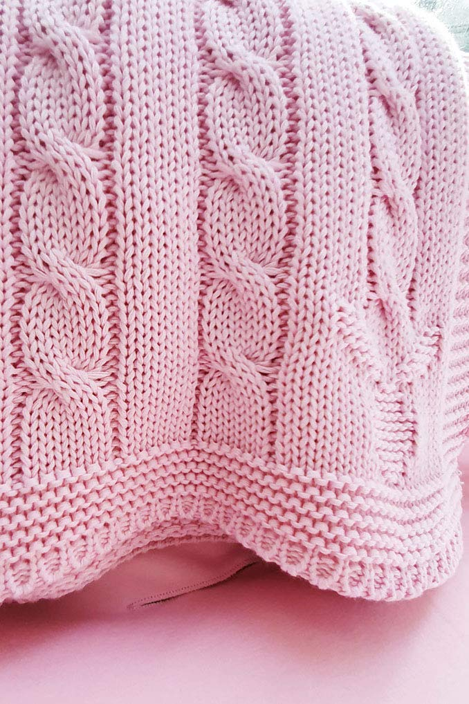 Wallaboo 100% Organic Cotton Sweater with Wid Knit Alternative dealer Noa 70% OFF Outlet Blanket