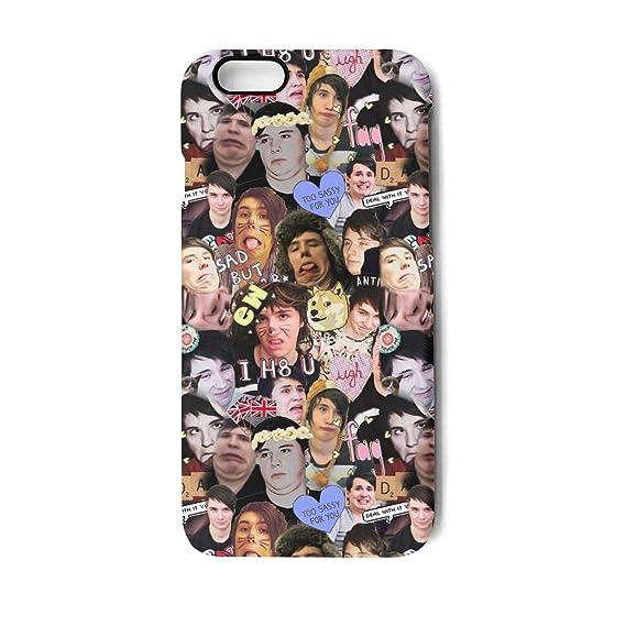 dan and phil phone case iphone 8