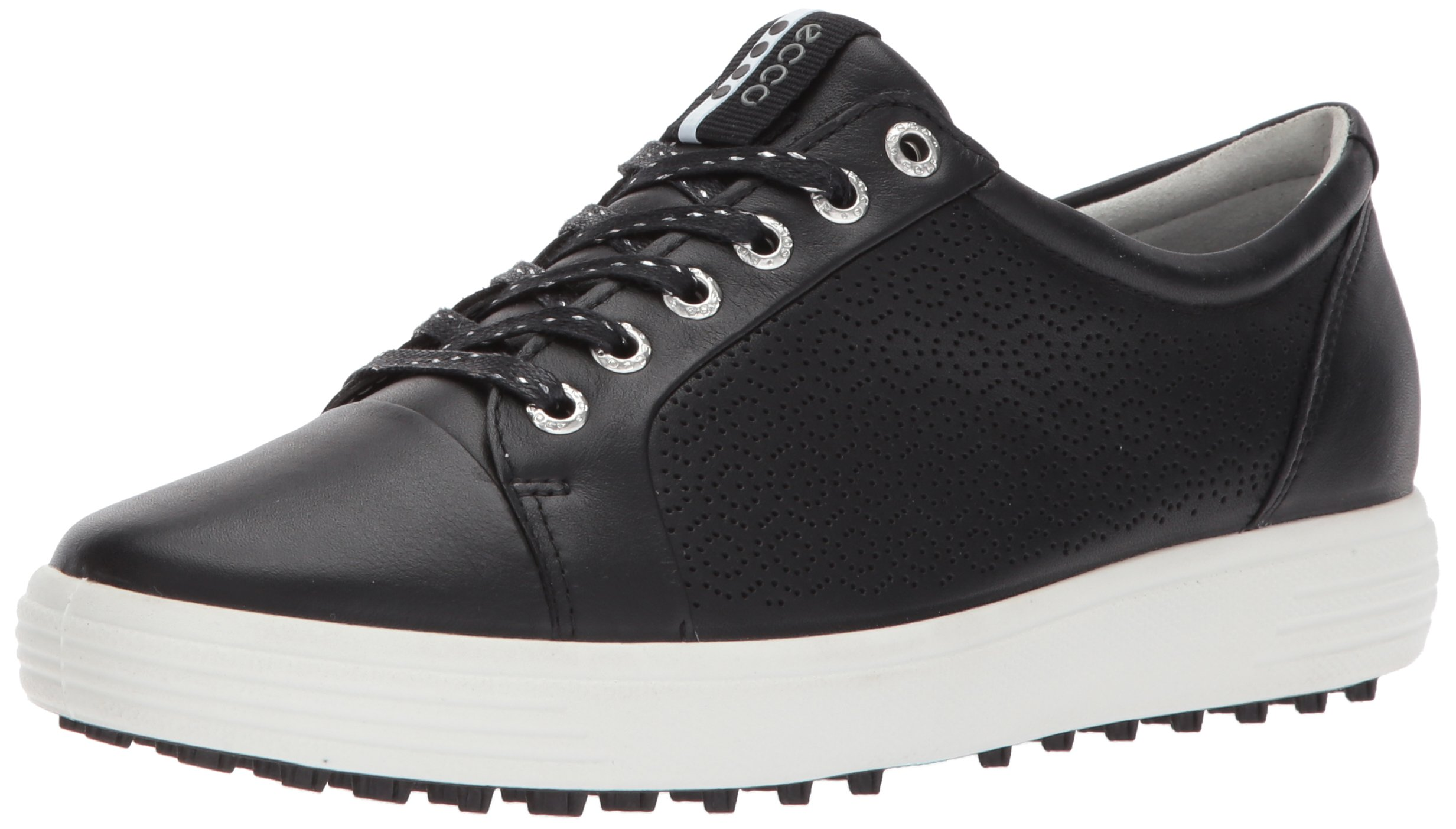 ECCO Women's Casual Hybrid 2 Golf Shoe, Black, 39 EU/8-8.5 M US by ECCO