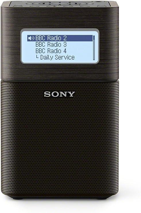 Sony XDR-V1BTD Portátil Negro - Radio (Litio, Portátil, DAB, DAB+, FM, Batería, 87,5 - 108 MHz)