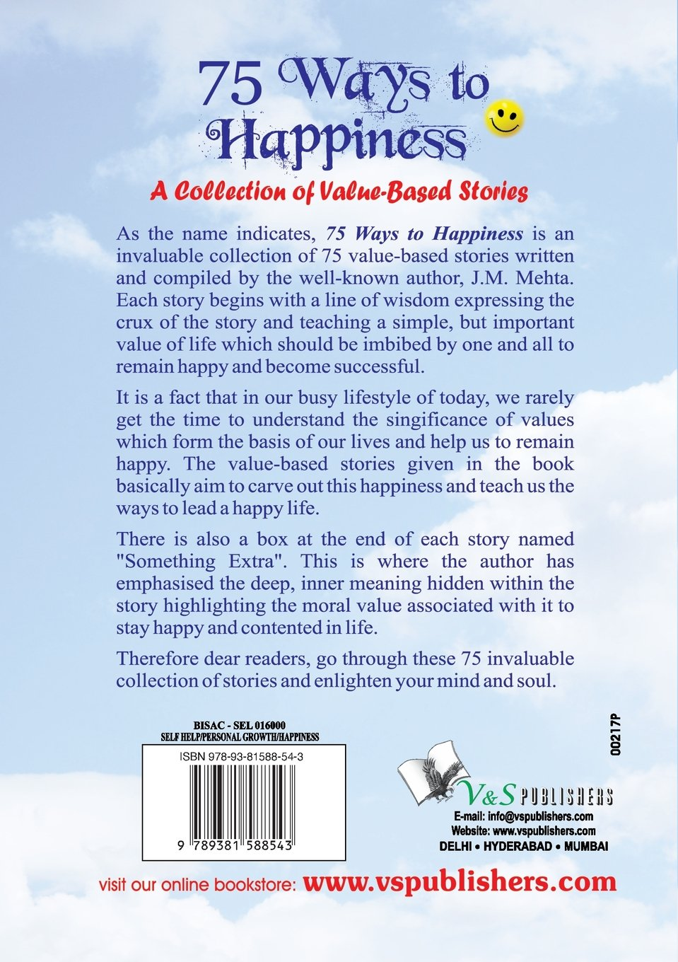 75 ways to happiness j m mehta 9789381588543 com books