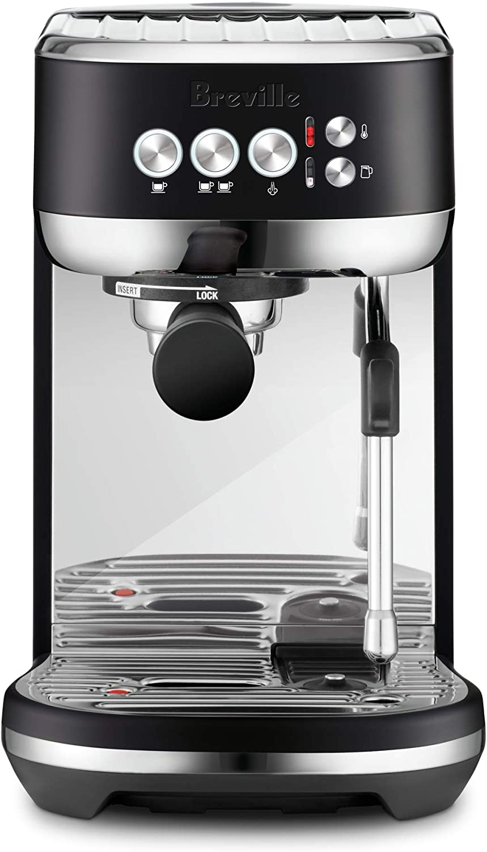 Breville Bambino Plus coffee machine black truffle