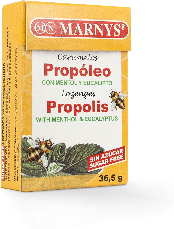 MARNYS Caramelos de Propóleo con Mentol y Eucalipto sin ...