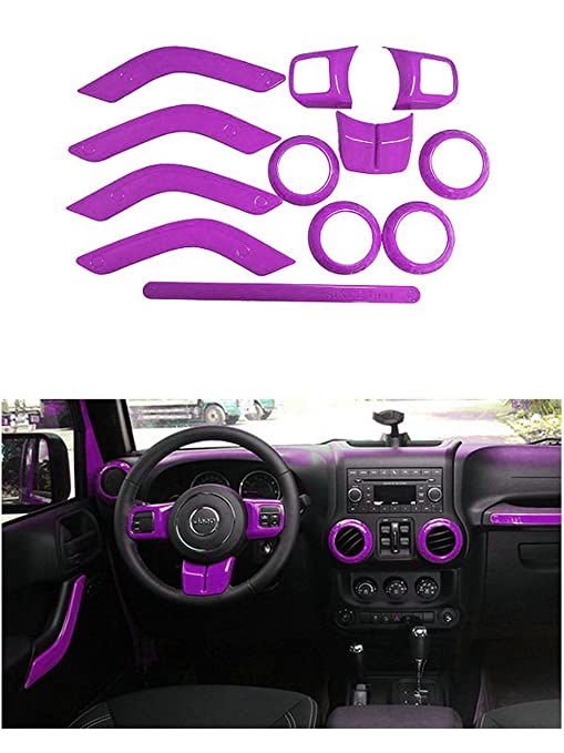 Opall full set interior decoration trim kit steering wheel center console air outlet trim