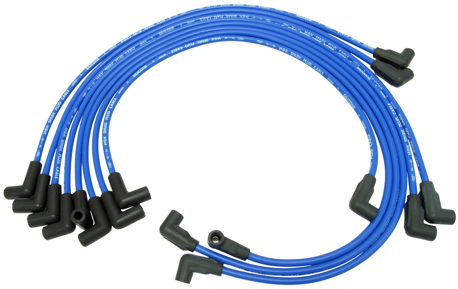 NGK RC-GMZ037 Spark Plug Wire Set (51241), 1 Pack