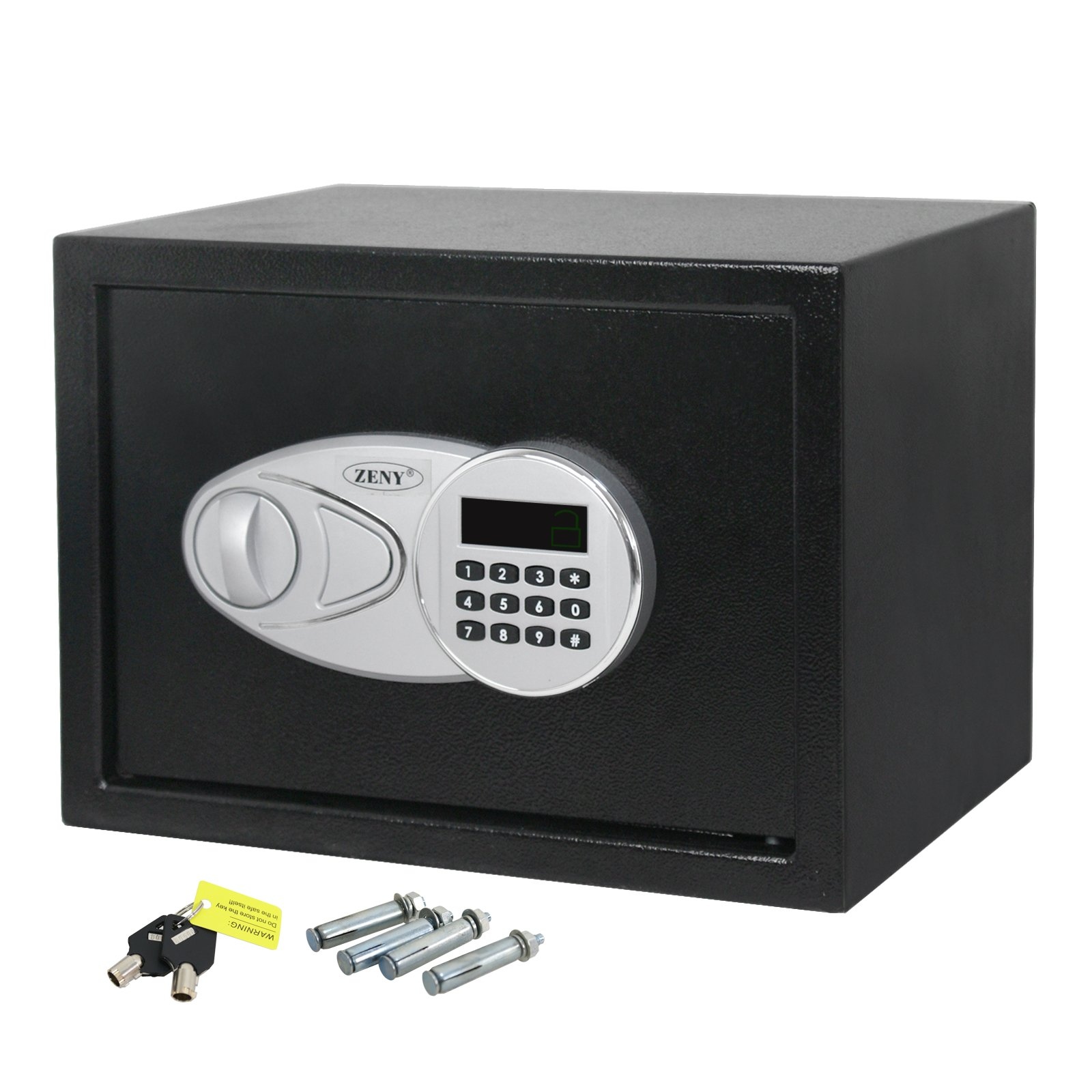 ZENY Electronic Security Safe Digital Lock Fire Proof Jewelry Cash Gun Box (F30) by ZENY