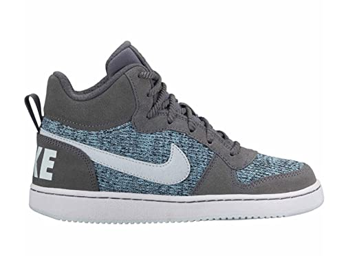 new york 54894 35b12 Nike Girl s Court Borough Mid SE (GS) Basketball Shoes (6 Big Kid M
