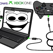 Microsoft Xbox One Controller + Cable for Windows