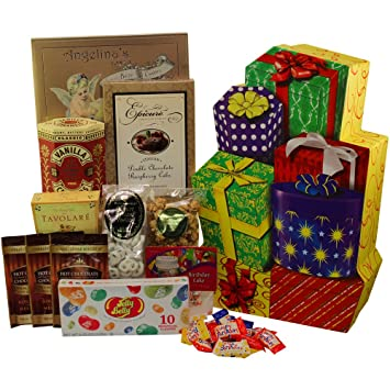 Image Unavailable Not Available For Color Presents Galore Happy Birthday Celebration Gift Box