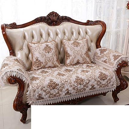 Amazon.com: HDVHXVHJWCXHXF European-Style Sofa Cushions/Four Seasons ...
