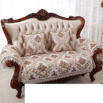 Amazon.com: HDVHXVHJWCXHXF European-Style Sofa Cushions/Four ...