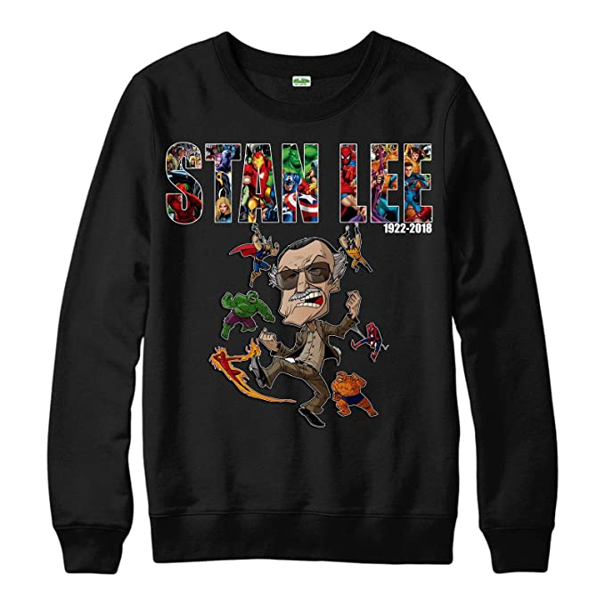 281ec163 Marvel Stan Lee Jumper Avengers Hulk Spiderman Comic Unisex Adult Kid  Jumper Top: Amazon.co.uk: Clothing