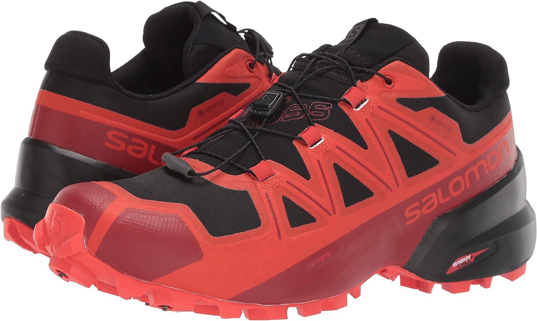 SALOMON Mens Unisex Spikecross 5 GTX Trail Running Shoes Hiking: Amazon.es: Zapatos y complementos