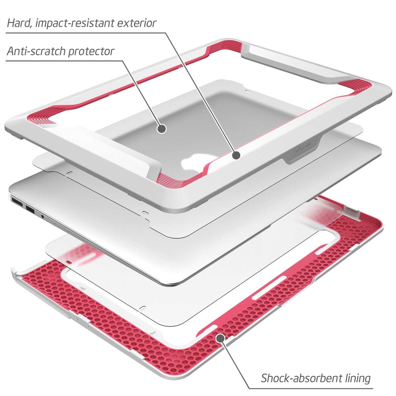 Hard Case Heavy Duty Dual Layer TPU Cover For MacBook Air 13 Inch A1369//A1466