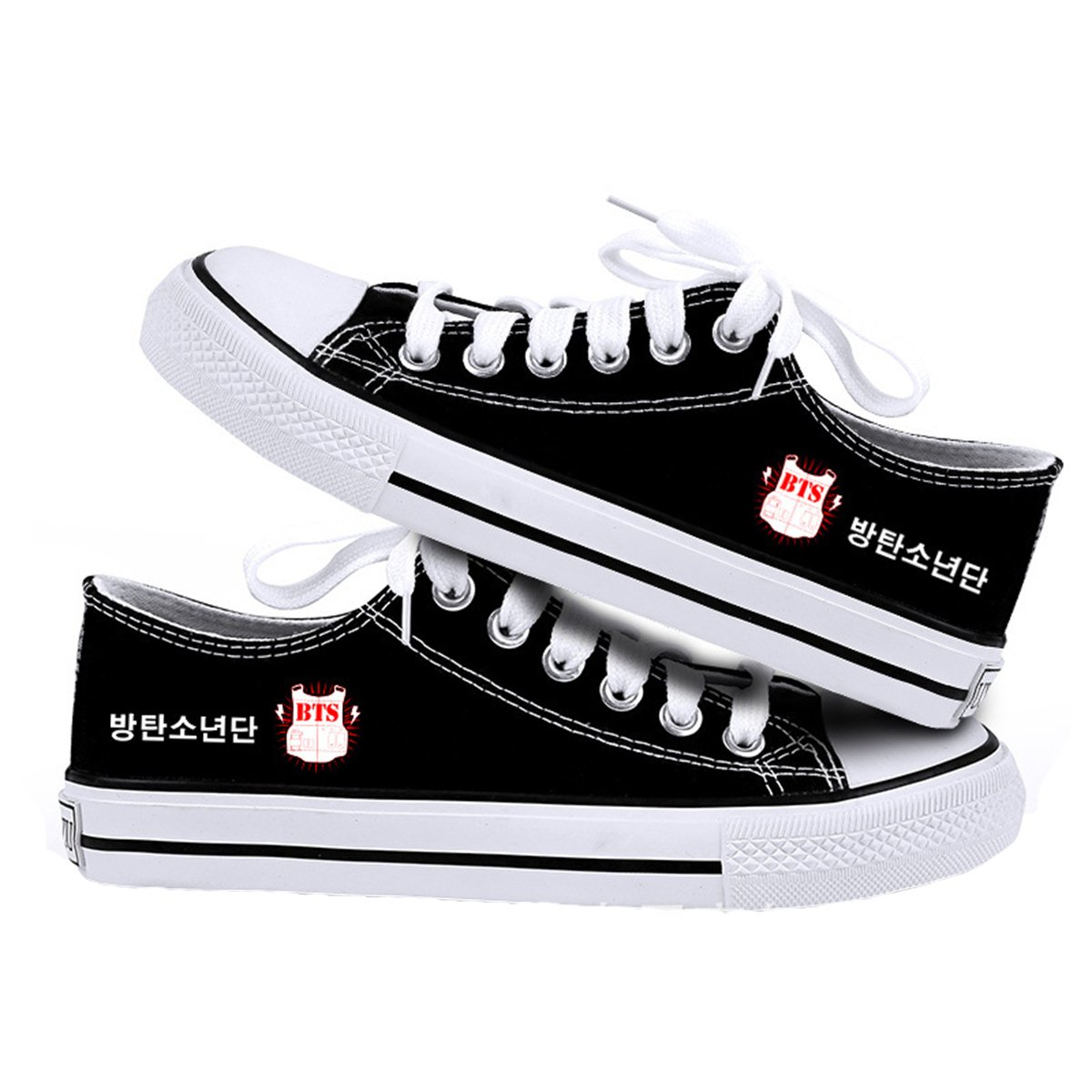 CHAIRAY BTS GOT7 EXO Canvas Shoes Sneakers Fashion Hiphop Style Casual Shoes