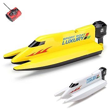 f7326289ab944f HSP Himoto RC ferngesteuertes mini Speedboot