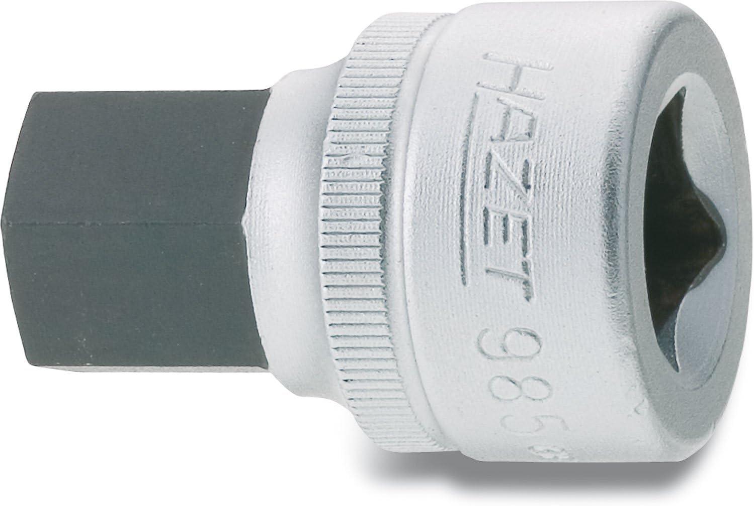 HAZET 985-19 Hexagon Profile Screwdriver Socket Multi-Colour