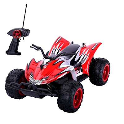 RC Car, YOKKAO 27MHz 1:22 Remote Control Off Road Vehicle 2WD High Speed Radio Controlled Monster Truck with Rechargeable Battery