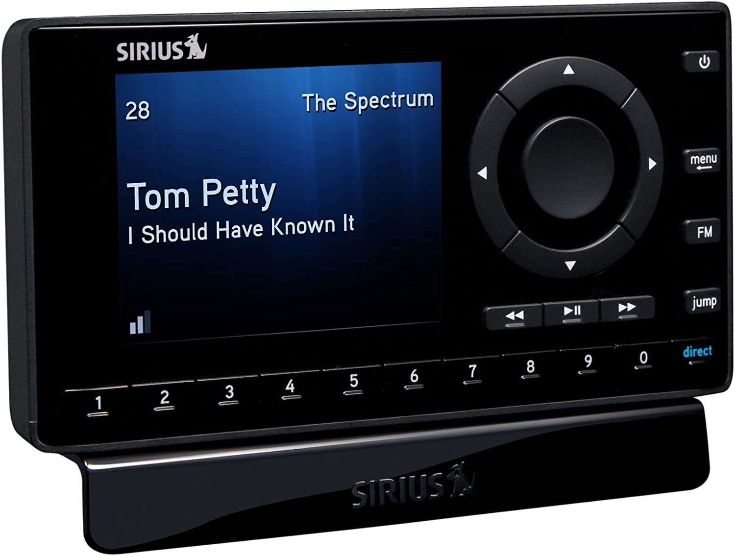 Sirius SST8V1 Starmate 8 Dock-and-Play Satellite Radio with Vehicle Kit DISCONTINUED BY MANUFACTURER