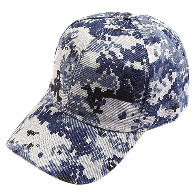 Dwevkeful Gorras Planas Hombre Mujer, Gorras de béisbol Aire Libre Gorros de Aviador Gorras Estampada Camuflaje Sombreros Casuales Hip Hop: Amazon.es: Ropa ...