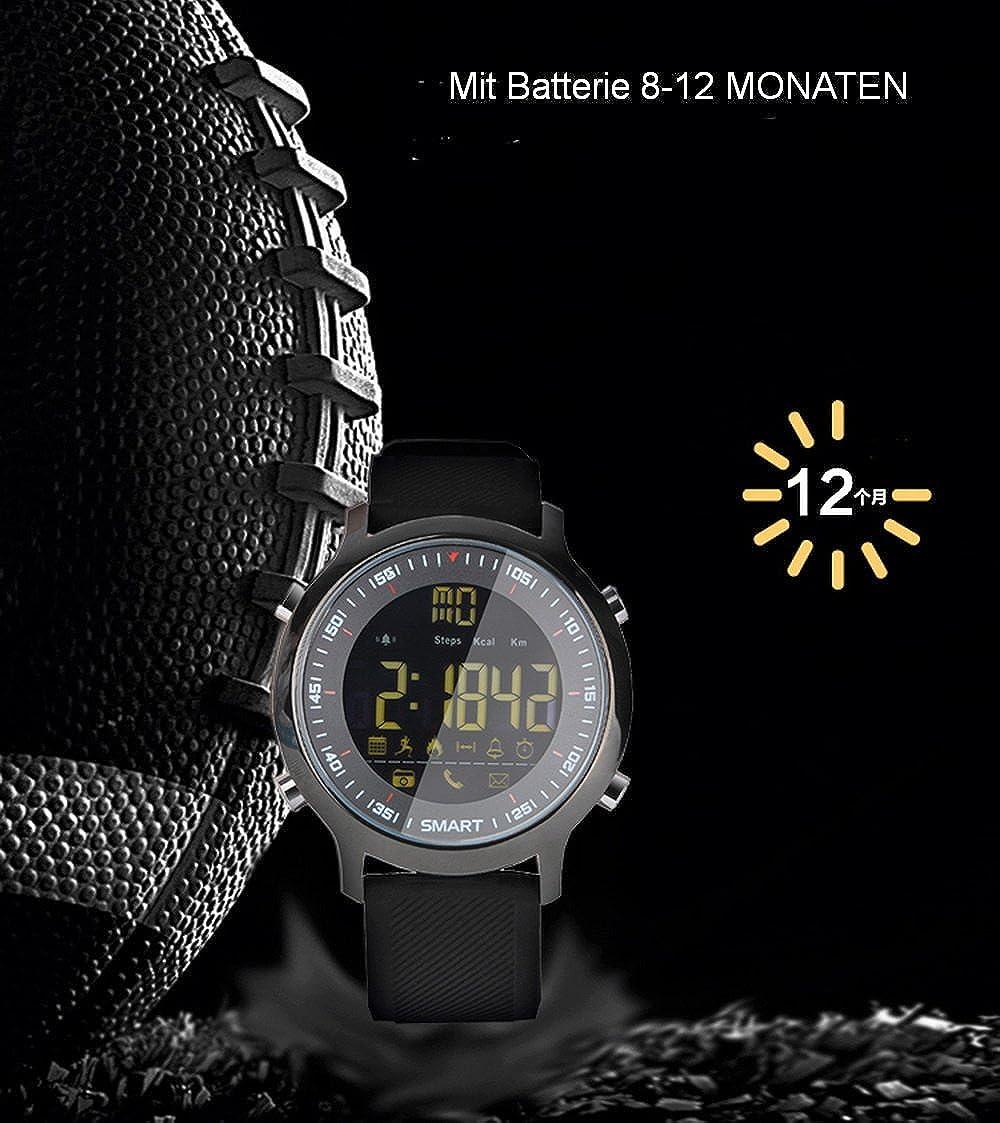 Reloj Elegante Resistente al Agua Calorías Quemadas Podómetros Información Control de Mensajes Control de Cámara Deportes Podómetro