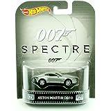 ASTON MARTIN DB10 from the 2015 James Bond film SPECTRE Hot Wheels 2015 Retro Series 1:64 Scale Die Cast Vehicle