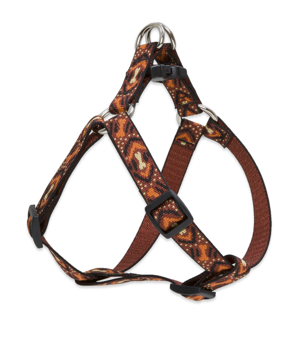 LupinePet Originals 3/4'' Down Under 20-30'' Step In Harness for Medium Dogs