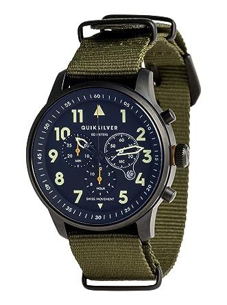 Quiksilver - Reloj Analógico - Hombre - ONE SIZE - Verde: Quiksilver: Amazon.es: Ropa y accesorios