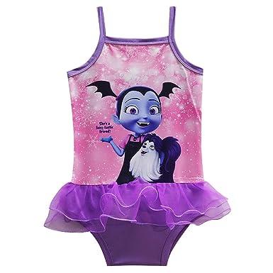 PCLOUD Vampirina toddler Girls One Piece Swimsuit a35b94110