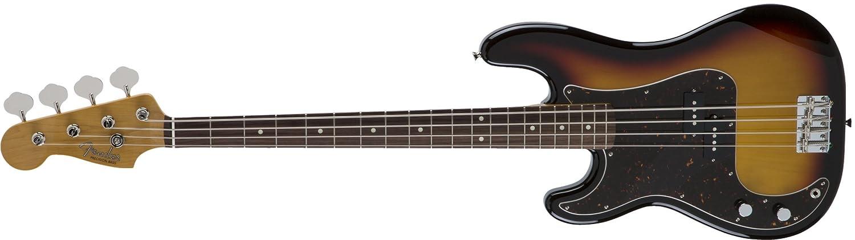 Fender エレキベース MIJ Traditional '60s Precision Bass® Left-Hand Rosewood B075LM7V11 3カラーサンバースト(左用)