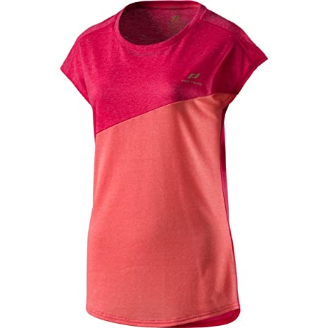 Pro Touch Mujer Unidad Funktions Camiseta de Fitness jagny III Rosa Rojo, Mujer, Color