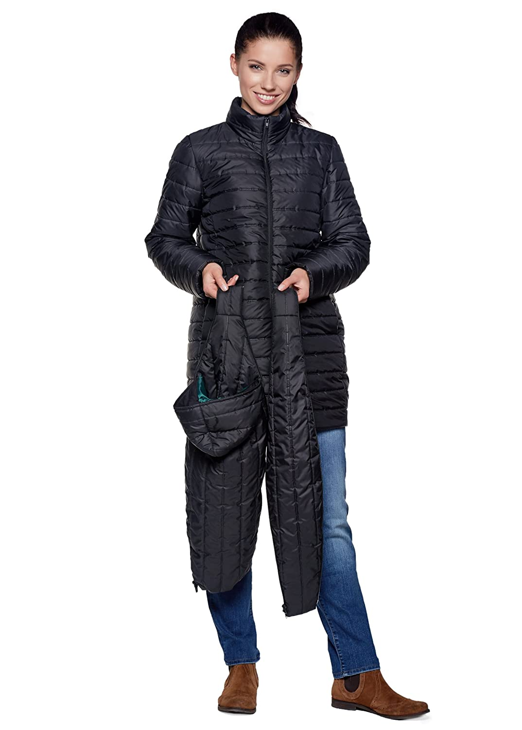 Be! Mama 3in1 - Wintertragejacke-Umstandsjacke & normale Damenjacke in einem - Modell: SORRENTO