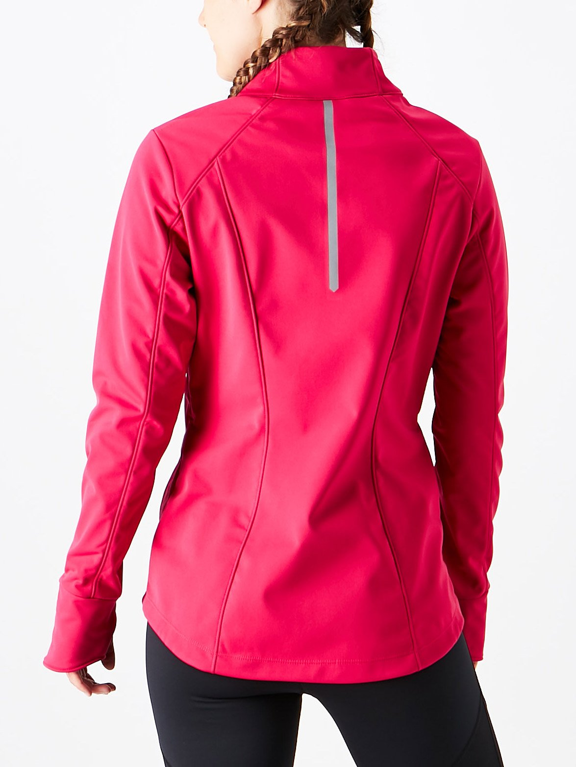 ASICS Womens Softshell Jacket, Performance Black, Small by ASICS (Image #4)