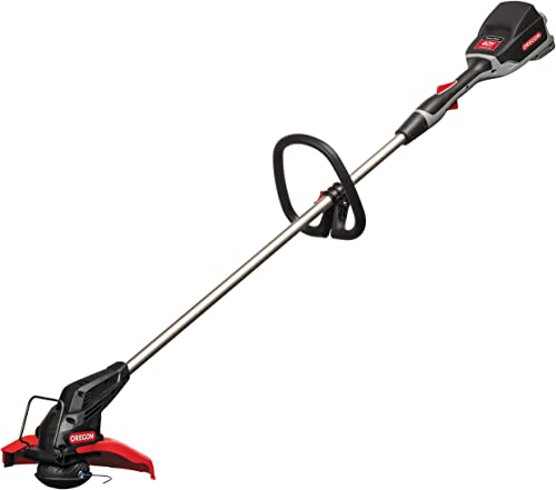 Oregon Cordless ST275 Straight Shaft Lithium Ion String Trimmer with 6.0 Ah Battery and Rapid Charger
