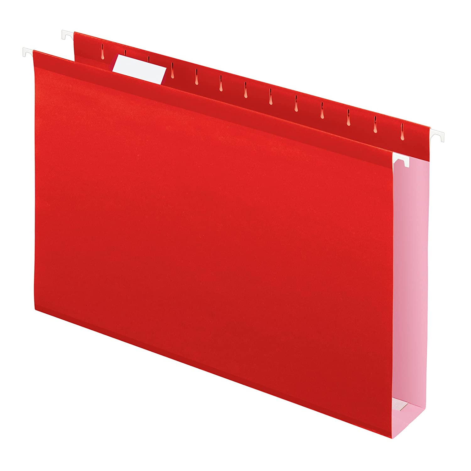 Pendaflex Extra Capacity Reinforced Hanging Folders, Legal Size, Assorted Colors, 25 per Box (04153X2 ASST)