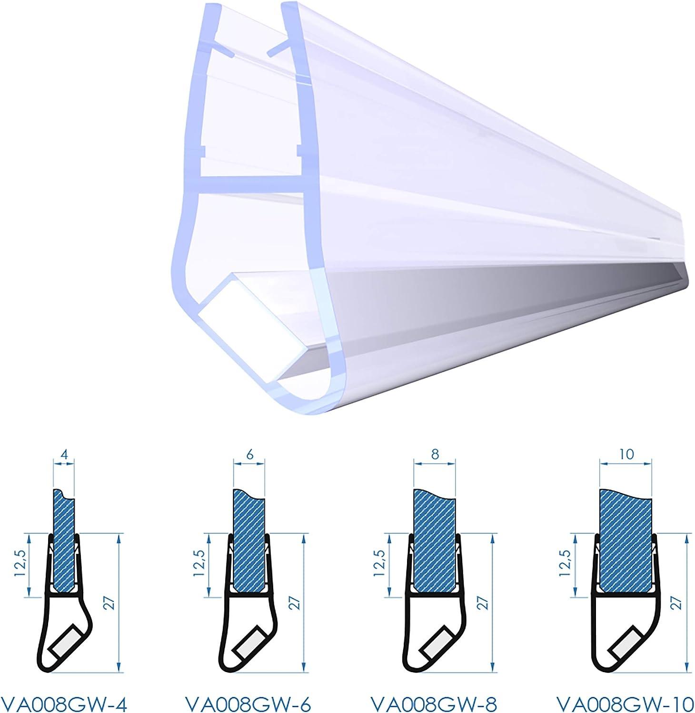 Adelberg VA008GW - Junta magnética para Cabina de Ducha (Tipo ...
