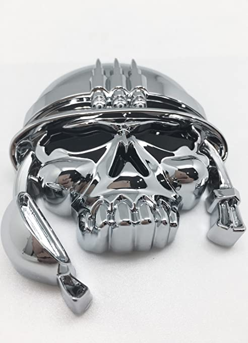 3d Chrome Custom Military Soldier Skull Army Emblem Badge Sticker Decal Motorcycle Car Truck Carlab