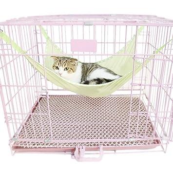 xinjiener Funda protectora de asiento de coche para mascotas Fundas de almohada de viaje para mascotas