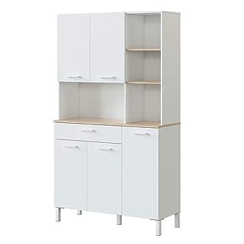Habitdesign 0F9950A - Alacena de Cocina, Aparador, Mueble ...