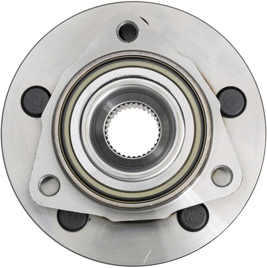 Note: 2-Wheel ABS 2005 For Dodge Dakota Front Wheel Bearing and Hub Assembly x 1